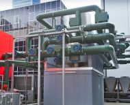Chilled water buffer